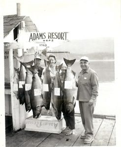 Adams Resort Fish 1963