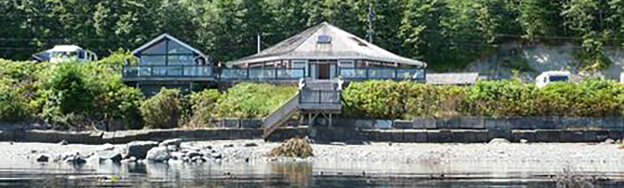 Clubhouse from the water