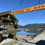 Brown's Bay Sign